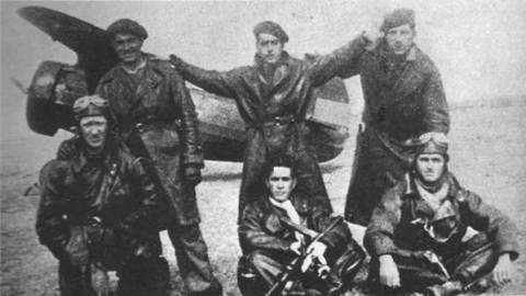 Componentes del Yankee Squadron