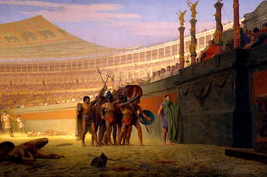"""Los gladiadores nunca dijeron """"los que van a morir te saludan"""""""