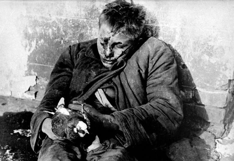 El niño asesinado por los alemanes cuando intentaba liberar a sus palomas