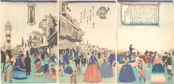 Occidente visto por los japoneses del XIX