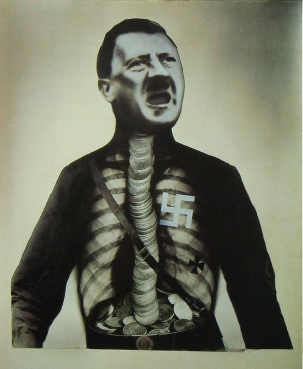 Supermán Hitler, traga oro y escupe basura