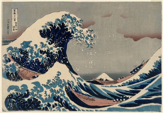 Ola de Kanagawa (Hokusai)