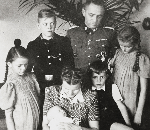 Familia Hoss in Auschwitz
