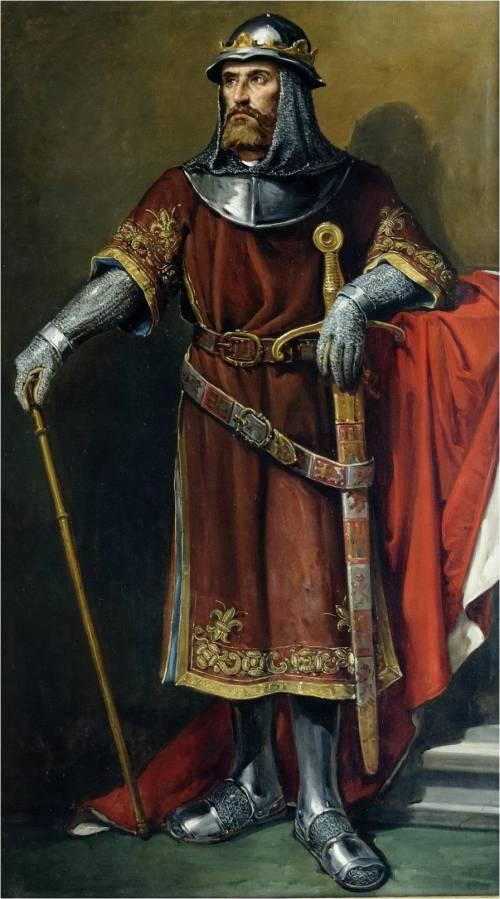 Retrato imaginario de Sancho IV (Ayto. León)