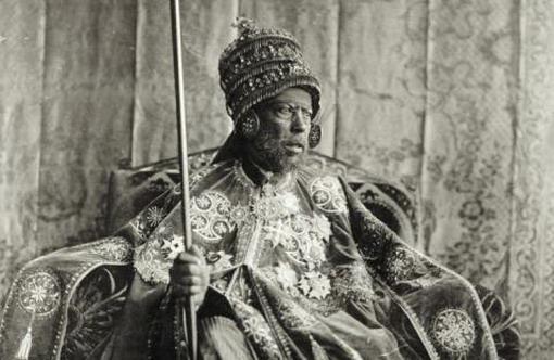 Menelik trono