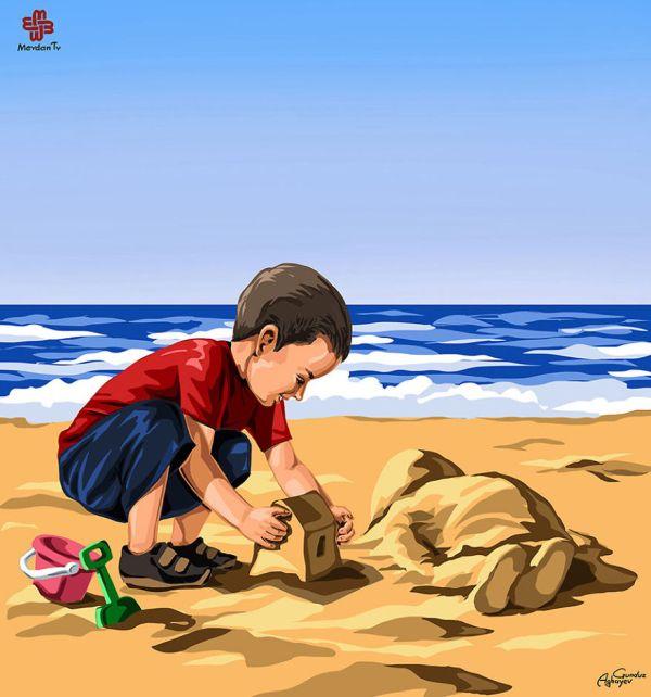 Aylan Kurdi - Gunduz