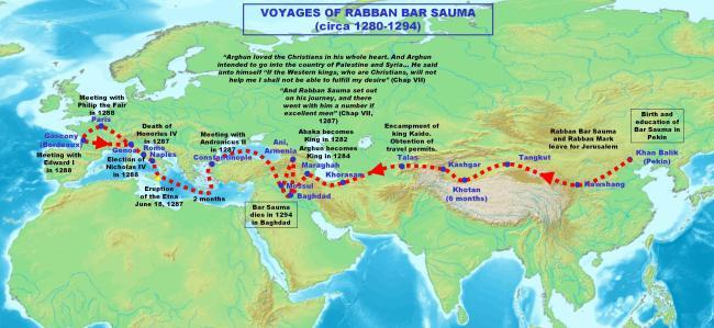 Viaje de Rabban Bar Sauma
