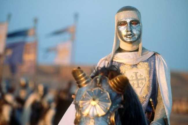 """Balduino IV - Fotograma de la película """"El Reino de los cielos"""""""