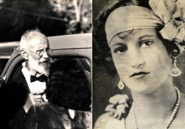 Carl von Cosel y María Elena Milagro