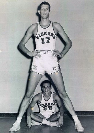 Swede Halbrook con los Wichita Vickers
