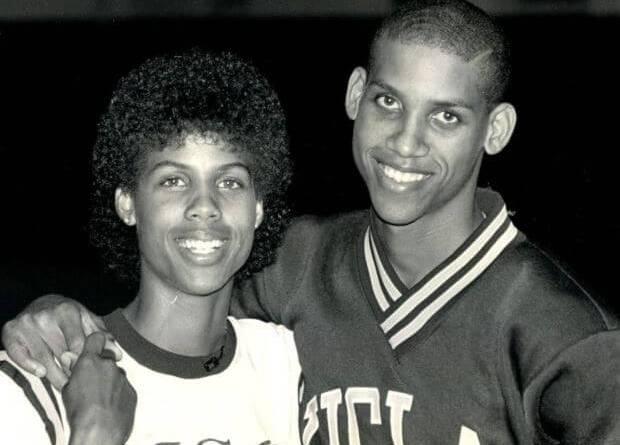 Cheryl y Reggie Miller