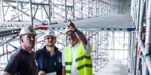 Seguridad, flexibilidad y eficiencia es lo que cuenta en la obra