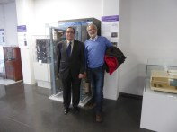 Con Emilio Borque (muxfim) en el Museo