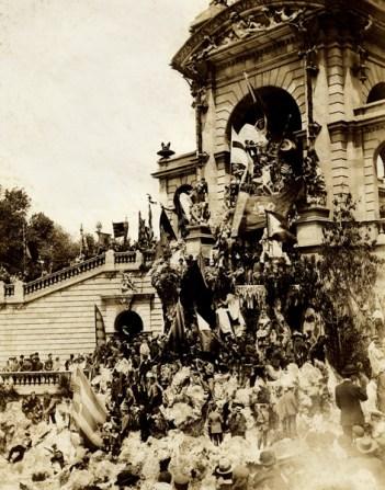 Parc de la Ciutadella ( 1907) Festa Nacional Catalana
