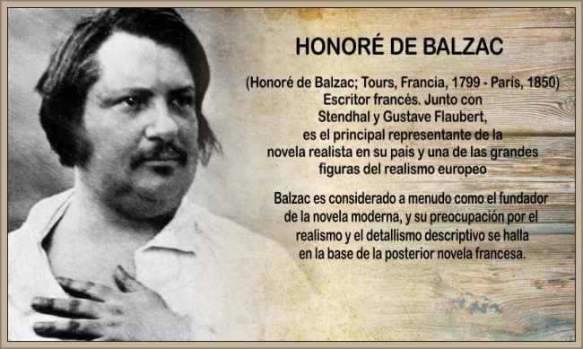 Biografía de Balzac Honore Novelista Resumen de su Obra Literaria