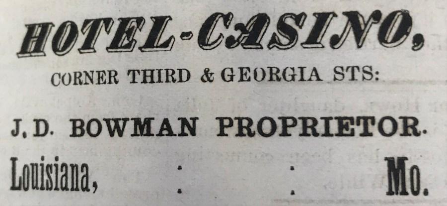 Hotel Casino Bowman
