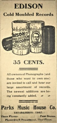 1906 Advertisement in the Louisiana Press Journal.