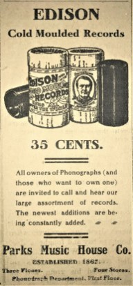 1906 Advertisement in the Louisiana Press Journal.