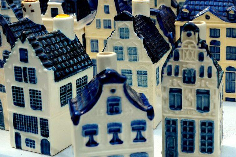KLM huisjes Noordermarkt