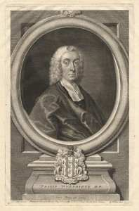 by George Vertue, after  Andrea Soldi, line engraving, 1751