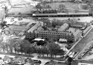 Figure 3: MacDonagh Junction Workhouse, which accommodated around 1300 members of the poor in Kilkenny City. Source: An Ancestry Community