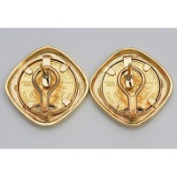14KT GOLD earrings with U.S. 1/10 oz. Eagle Gold Coin