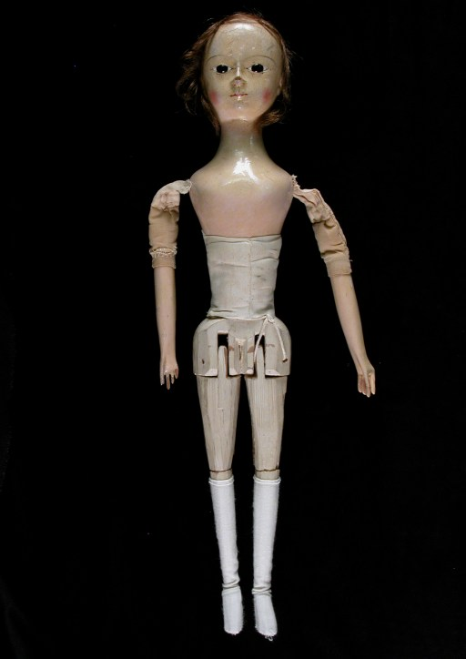 Dudmaston Pandora doll, 18th C.