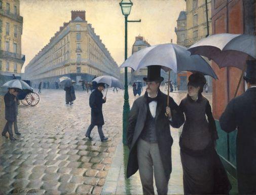 Gustave Caillebotte, Paris Street Rainy Day, 1877