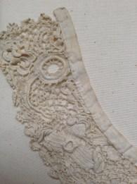 Irish Crotchet Collar, Late 19th Century. Charles Paget Wade Costume Collection at Berrington Hall