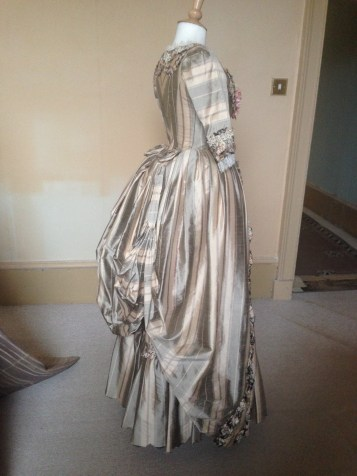 The 'Day Dress', The Duchess exhibition at Berrington Hall, April 1st - June 31st 2014