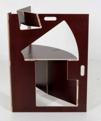 Historical Design I Werner Schmidt Folding Triangle Chair ...