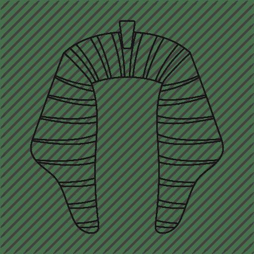 Symbols of a pharaoh