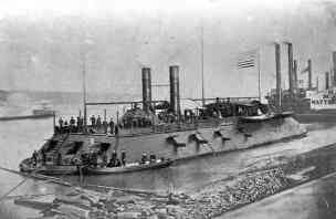 What was an Ironclad in the Civil War?