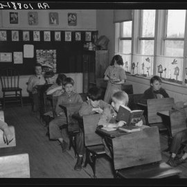 1870s classroom