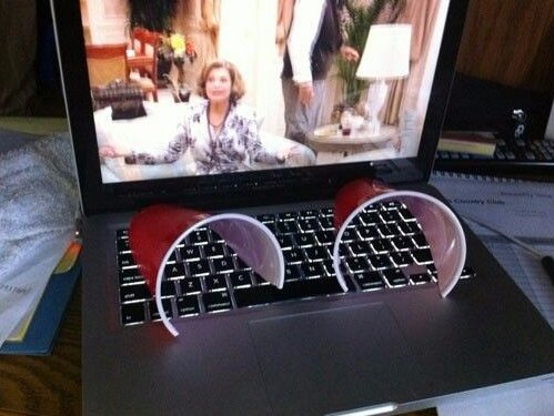 9-two-halves-of-a-plastic-cup-wont-amplify-your-laptop-speakers