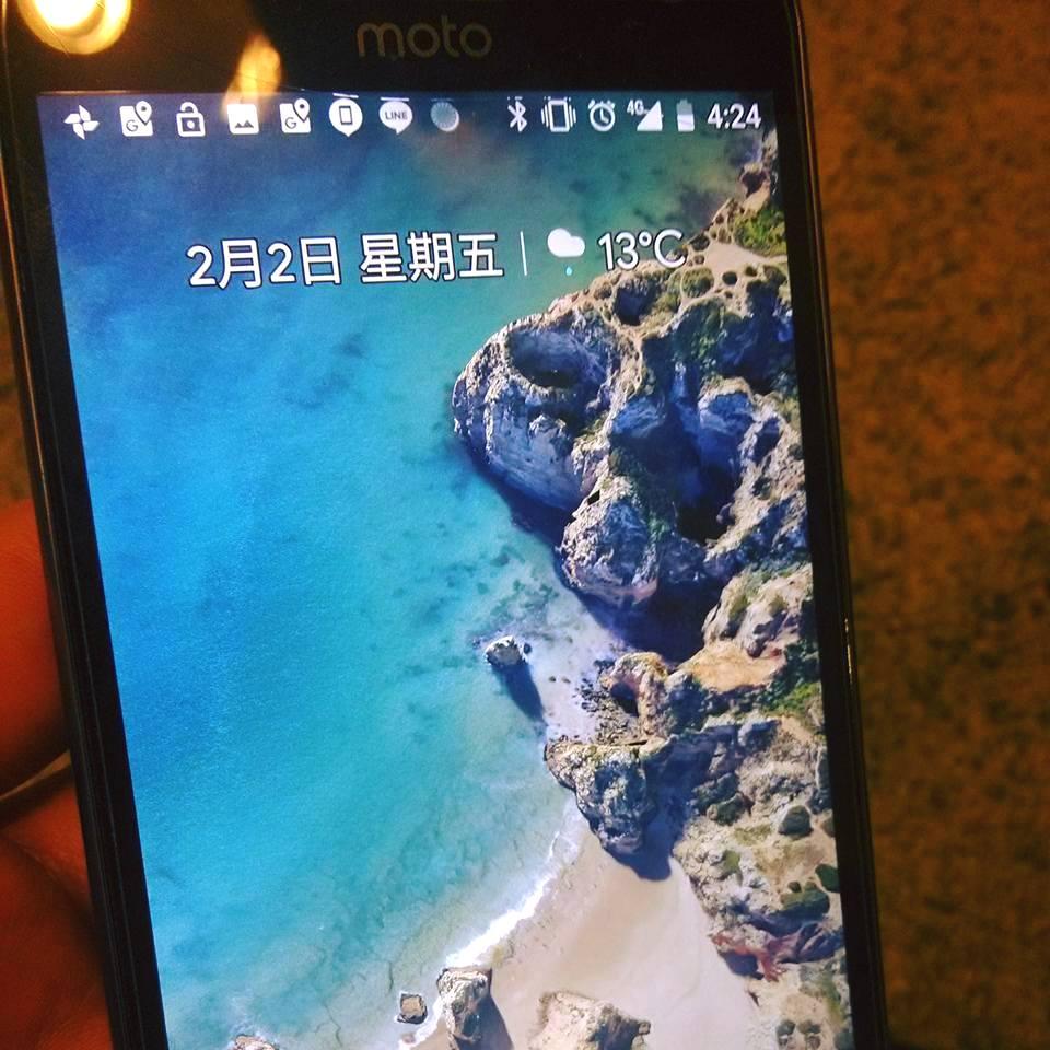 當Moto G5 Plus 成功以pixel內容開機後真是感動阿