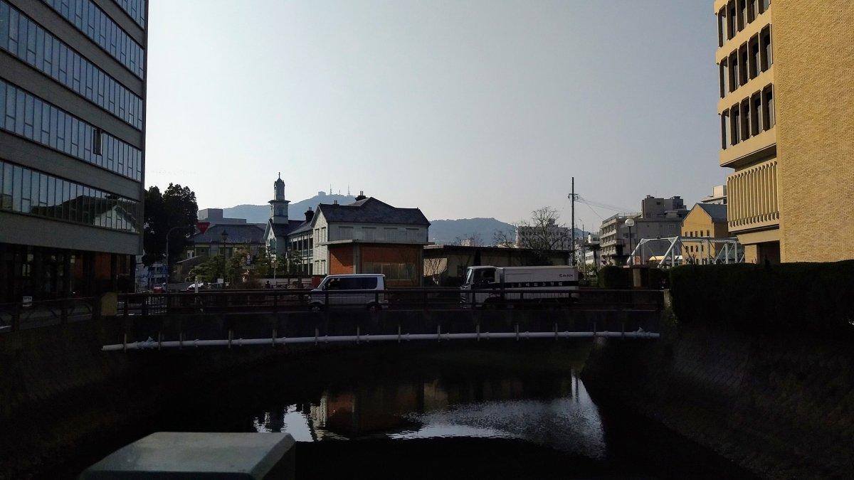 長崎港的水路之一