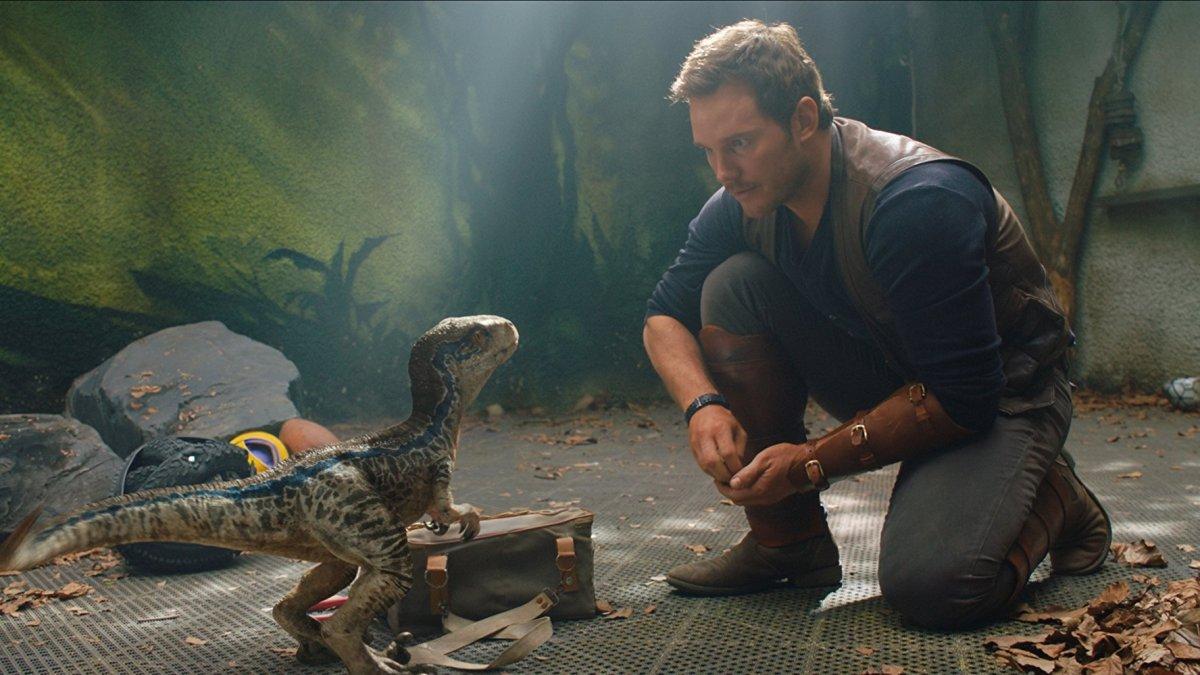 Chris Pratt in Jurassic World: Fallen Kingdom (2018)