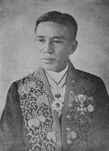 第4任台灣總督府民政長官祝辰巳。來源:維基百科條目。