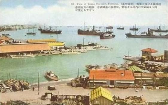 1920年代的高雄港