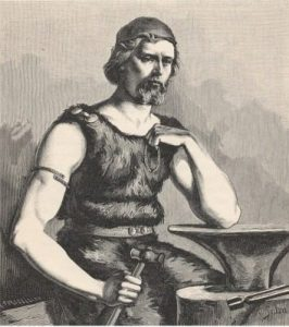 Völund, Wayland the Smith: Wades Son