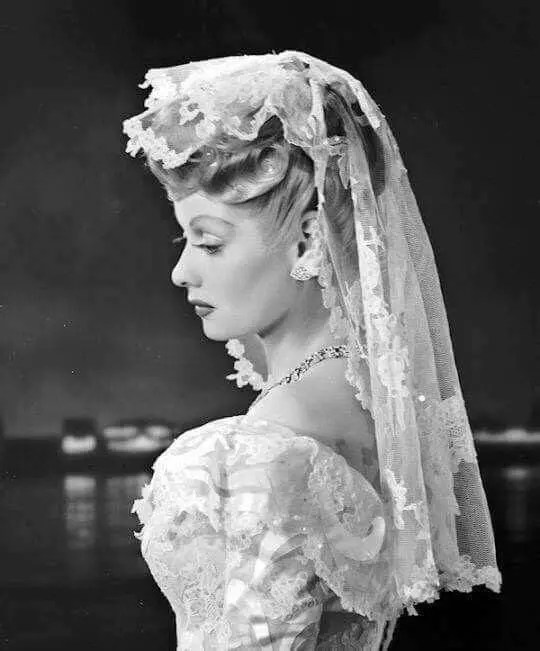 Lucille Ball portrait from Lured
