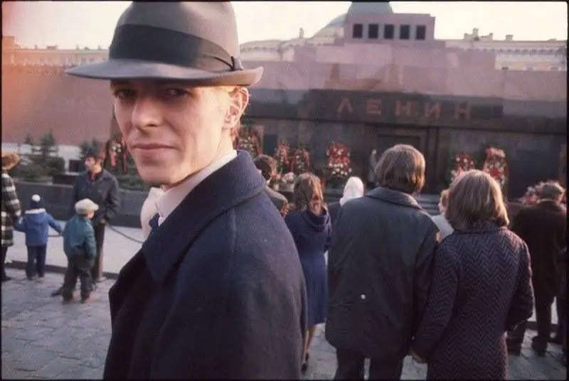 David Bowie in Moscow, 1973