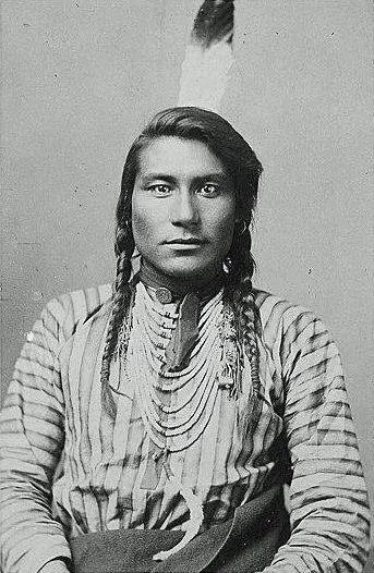 Hail Stone, a Crow Native American