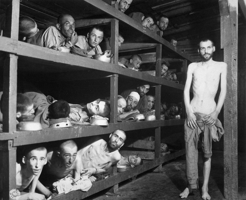 Buchenwald, April of 1945.