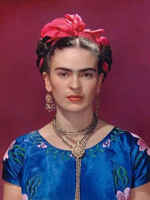 Frida Kahlo portrait, 1939.