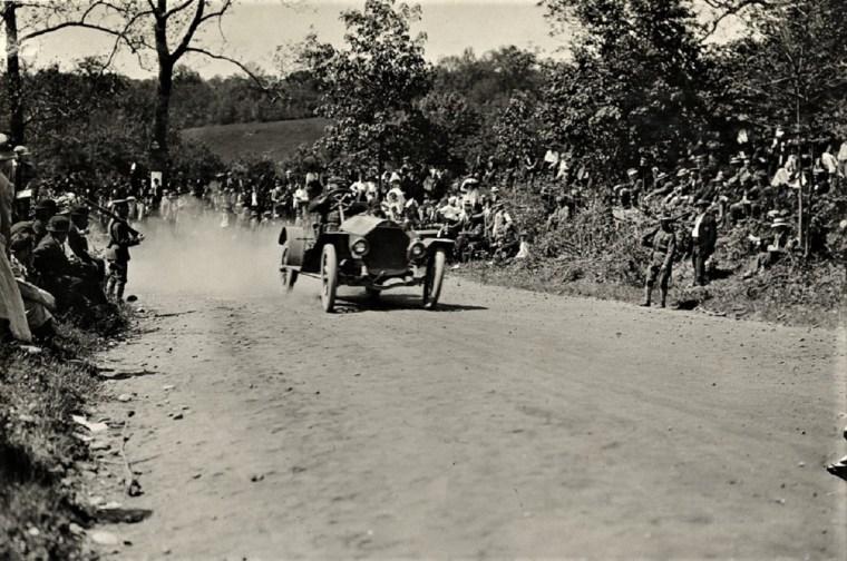 Easton 1909 frank lecault palmer-singer hill climb