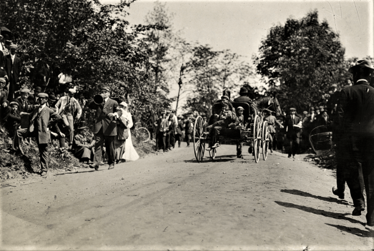 Easton HSE sport hill rd 1909 hill climb