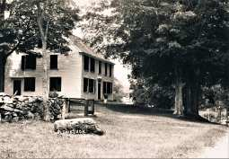 35 Old Redding Road. Moses Dimon House c.1725. Gustav Pfeiffer Estate and cornerstone property of his Apetuck Farms in the 1930's.
