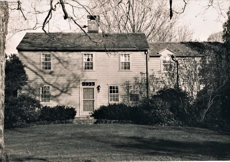 Easton HSE House 100 Homestead 1750 Ebenezer Thorp 70 Redding Rd.